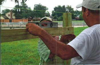 Fencing by Trinity Builders in Houston, TX
